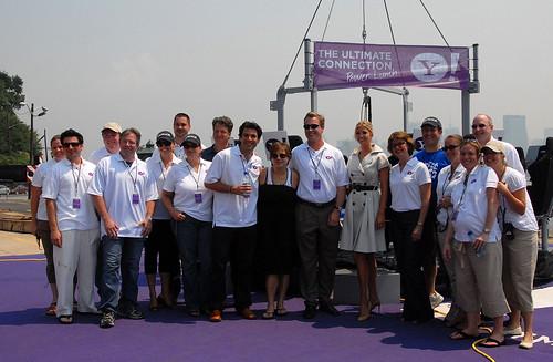Yahoo PR Department, YSM Team, Ivanka Trump, and Winners