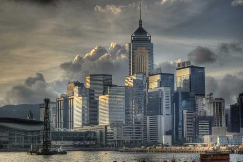 Hong Kong Morning Skyline by Gedawei 葛大ä��, on Flickr