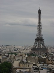 A view of the Tour Eiffel