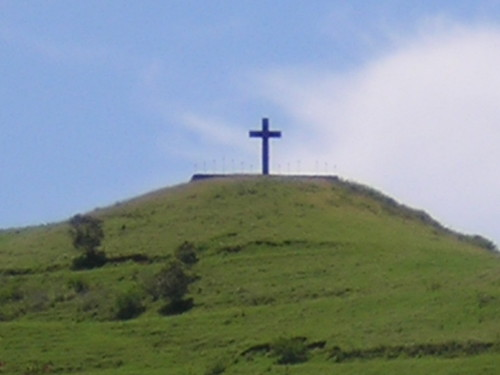 Cross at Hana