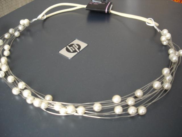 Peavõru beezid klaaspärlid hõbedane traat