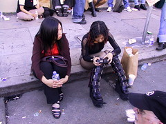 Cool Japanese Girls (highstrungloner) Tags: sanfrancisco leather fetish asian japanese boots folsom bottledwater digitalcamera folsomstreetfair folsomstfair folsomstreet folsomst leathervest frankcarroll highstrungloner