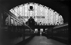 madrid atocha (manuel cristaldi) Tags: madrid leica city travel people blackandwhite bw film train 35mm blackwhite spain noiretblanc trix railwaystation summicron minox 2b atocha caminosdehierro minox35 schwarzweis 20faves favorites20 greatpixgallery10faves eagleeyes backtotheroots abigfave views1750 anawesomeshot blackandwhitephotoaward superbmasterpiece manuelcristaldi superbmasterpiec 10faves123 ithinkthisisart diamondclassphotographer blackribbonbeauty feltlife flickritik coolestphotographers blackwhiteartawards goldstaraward lifeinmonoaward manuelcristaldi selectedminox35