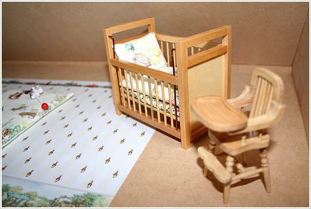 furniture nursery peterrabbit attic dollhouse