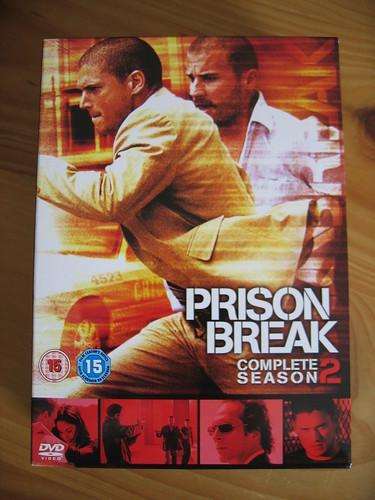 show two set century season michael tv dvd break box prison fox jail series fbi 20th jailbreak 20thcenturyfox lincon seasontwo seriestwo 20thfox