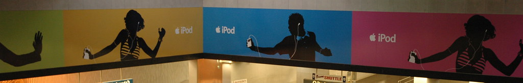 iPod banners