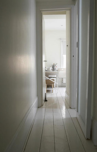 Wood Floors Painted White Door Sixteen
