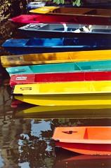 UK - Oxford - Coloured punts (Darrell Godliman) Tags: uk greatbritain travel england copyright travelling college tourism colors thames rainbow europe university colours britishisles unitedkingdom britain transport eu oxford gb colored colleges coloured riverthames isis punting oxforduniversity oxfordshire allrightsreserved punt oxon punts universityofoxford travelphotography oxbridge instantfave omot travelphotographer flickrelite dgphotos darrellgodliman wwwdgphotoscouk dgodliman alltypesoftransport