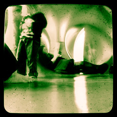 Levity II Luminarium 13 (Pete Ashton) Tags: uk birmingham saturday eastside luminarium duaflex birminghamuk architectsofair levity digbeth artsfest levityii ttv throughtheviewfinder bhfmartsfest07