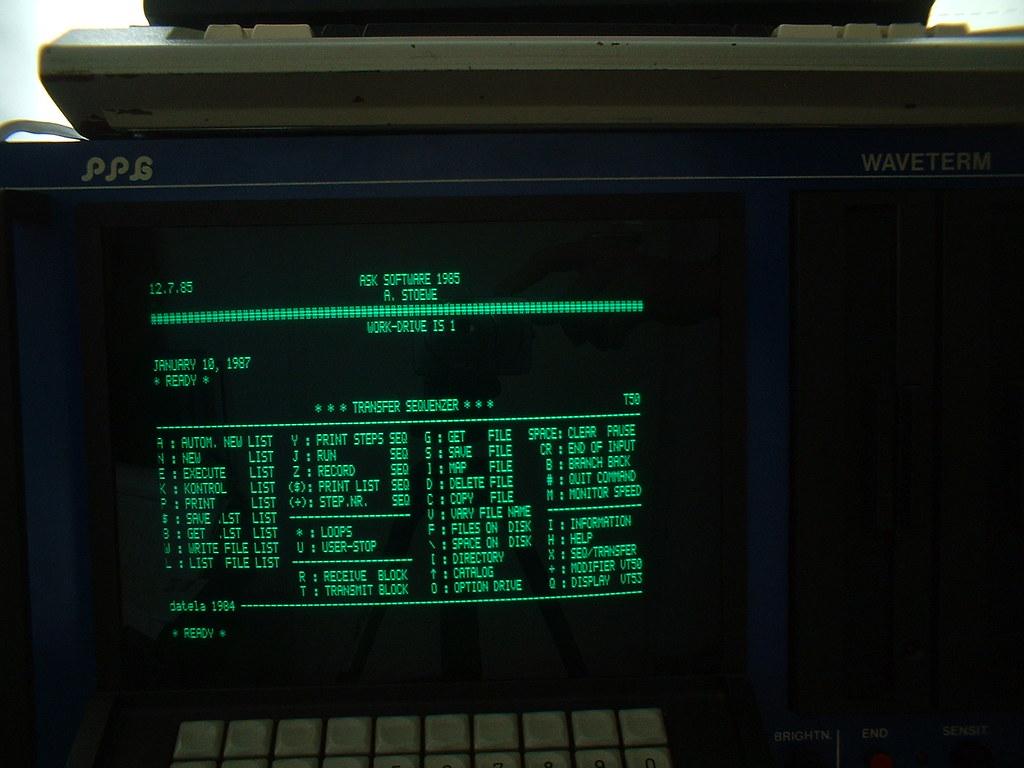 PPG 340/380 Reanimation: Transfer Mode