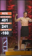 Pete Thomas On The Biggest Loser Reunion Show - 2007