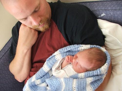 Josiah & Daddy 9/20/07