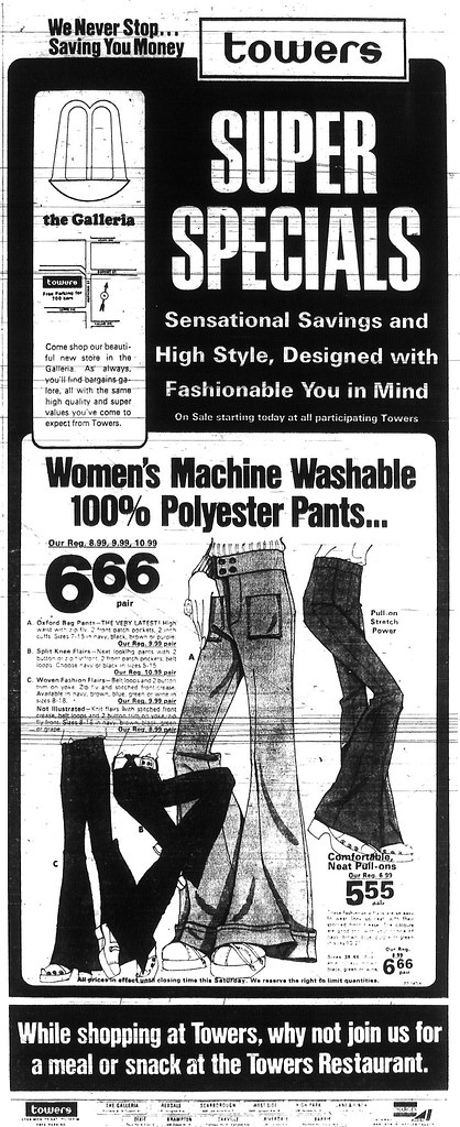 Vintage Ad #370: The Devil's Polyester