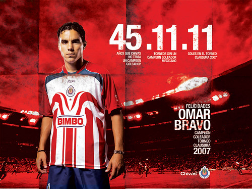 Omar Bravo Poster