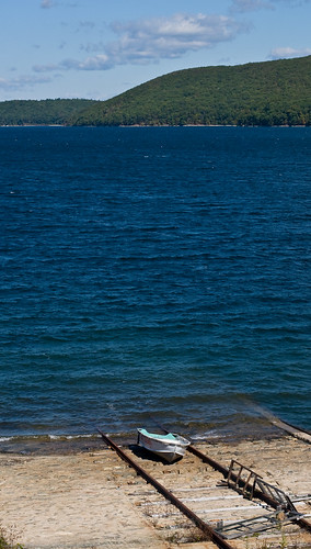 A Day at the Quabbin: boat