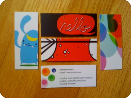 Mini-moo cards
