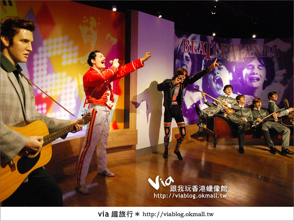 【香港自由行】香港太平山之旅~來杜莎夫人蠟像館探索吧!25