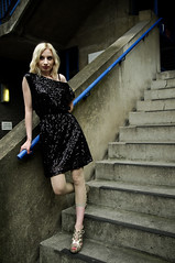 Maria: Grit and Glam Twenty One (Maryam Photography) Tags: london fashion grit glamour alley dress maria dresses parasol blonde eastlondon nikond90