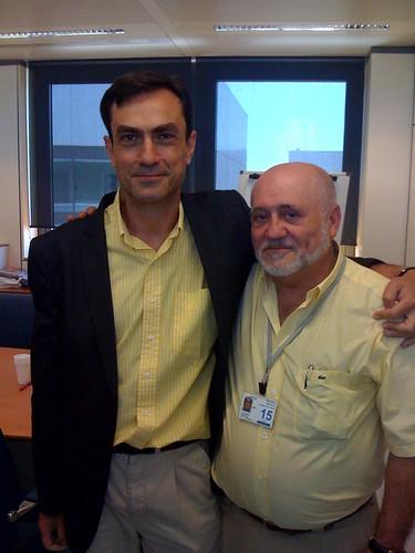 Camilo Cela y Juan María García