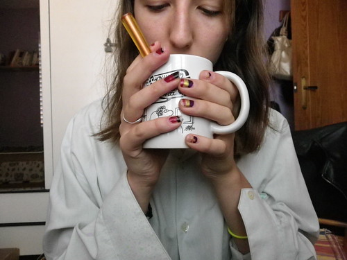 Café con sabor a rayos. by Eli Sugus