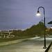 edward hopper dipinge atmosfere (lungo il Mississippi, davanti al Mill City Museum, Minneapolis, MS)