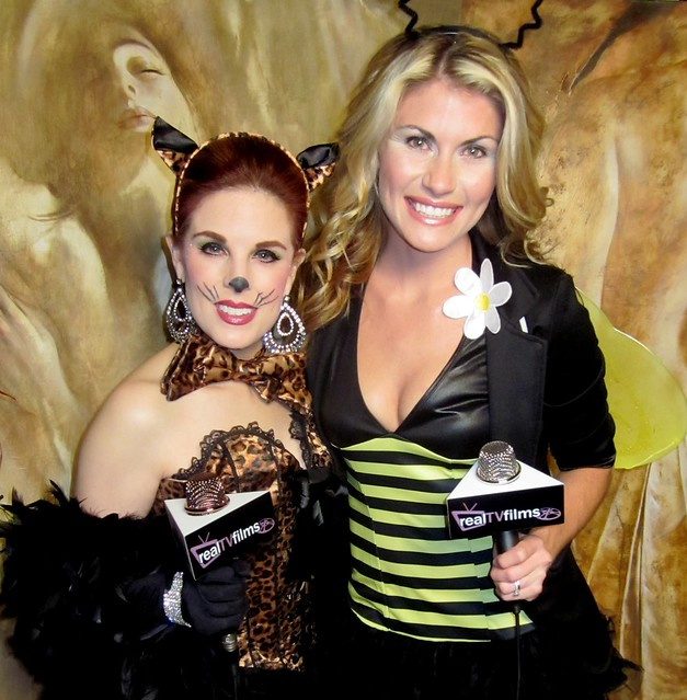 Kat Kramer, Lauren Slater, Bel Air Magazine Halloween Party