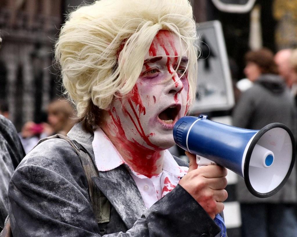 Anti Wilders betoger