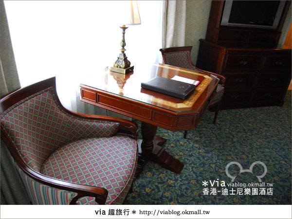 【香港住宿】跟著via玩香港(4)~迪士尼樂園酒店(外觀、房間篇)33