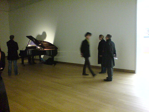 Museumnacht, Ives Ensemble performing John Cage