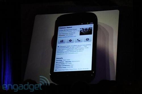 Gadget Meme:Google CEO  展示Nexus S,說幾周後正式釋出