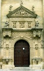 Portada lateral. Iglesia del Salvador, Úbeda (Jaén)