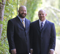 Brent and Todd (todd*) Tags: wedding self pose brent todd suitandtie