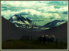 Mountain sky (joningic) Tags: sky mountains nature colors clouds iceland birta abigfave hrgrdalur