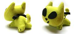 aliencat (DIY Fluffies) Tags: cute green cat alien plush stuffie aliencat