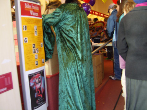 green cloak again