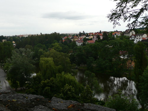 Tabor from the path to town