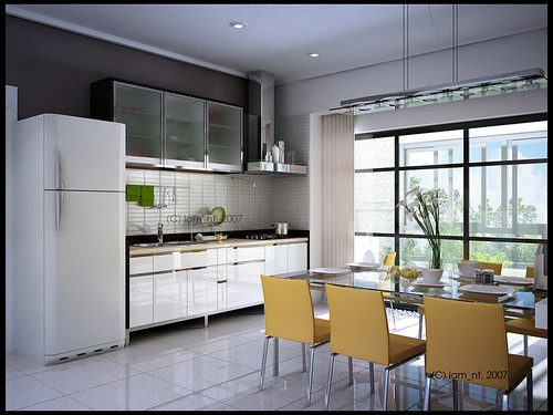 Minimalist Space for Kitchen Home Designs