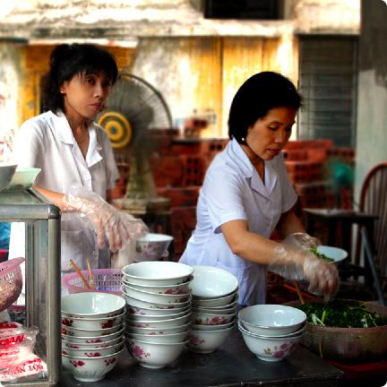 Pho on Nha Chung, Hanoi