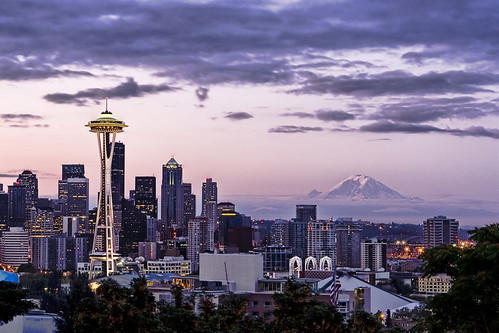 Pre-Dawn Seattle from Kerry Park by Cap'n Surly.