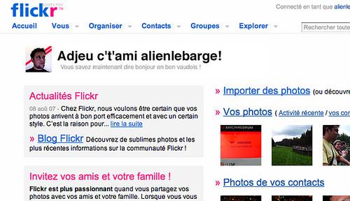 Bienvenue sur Flickr ! (en vaudois)