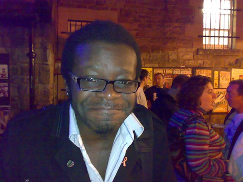 Stephen K Amos at the Pleasance Courtyard before his Edinburgh Festival Fringe Show (More of me)