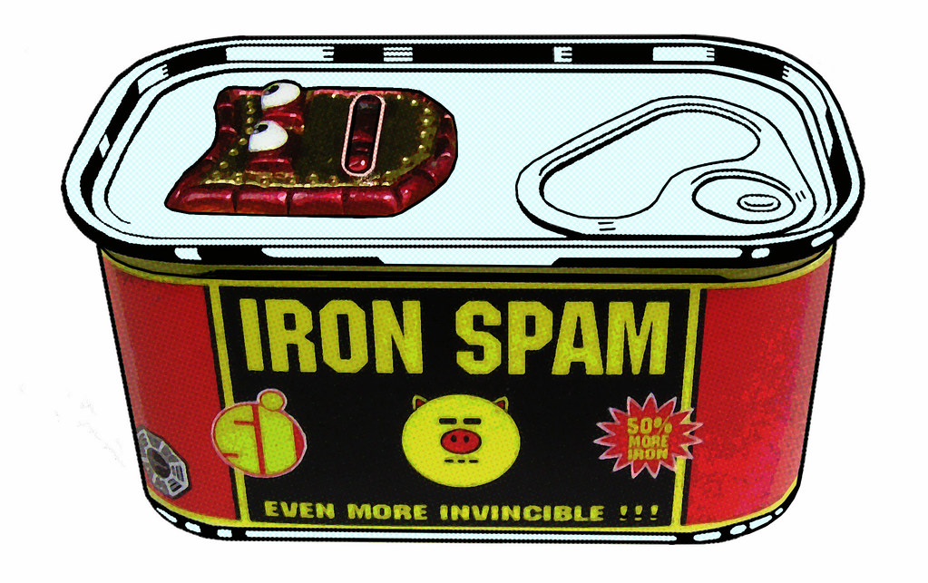 "IRON SPAM - ""THE WARHOL MACHINE"""