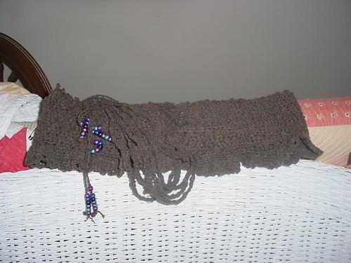 Ruffled Corset Belt