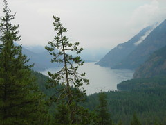 Lake Chelan from Rainbow Loop Trail