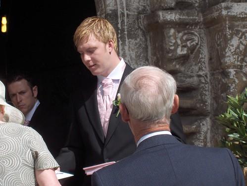 Wedding usher duties