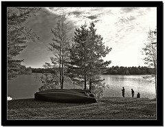 beautiful ontario | b&w (milleluce.com) Tags: park sky bw white lake ontario canada black reflection blanco nature sepia clouds 510fav boat negro bn serene blanc breathtaking bonecho thisisart provincial lifeshot musictomyeyes noire giang themoulinrouge naturesfinest exemplary joeperry cotcmostfavorited 10faves beautifulcapture abigfav aplusphoto amazingshots goldenphotographer diamondclassphotographer flickrdiamond worldpicture ultimategold artlegacy excapture thegoldenmermaid proudshopper theperfectphotographer superperfectphotographer thebestpool giangle astoundingimages bnwart giangleorg