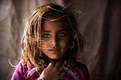 Village Beauty (mitchellk81) Tags: travel portrait india youth children costume eyes tribal tradition striking mystique gujarat rabari kutchh