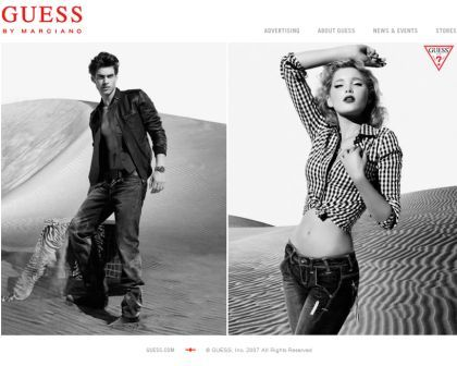 Guess homepage