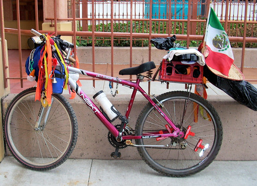 Mexican immigrant bicycle