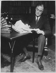 Public Domain: Franklin D. Roosevelt, 1932 (NARA) by pingnews.com on Flickr!